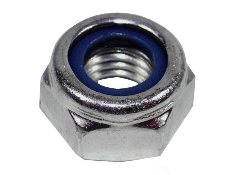 Pgb-fasteners Zeskantborgmoer DIN985 M12 inox 200 stuks
