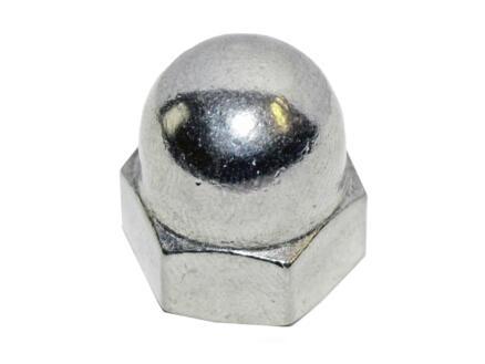 Pgb-fasteners Zeskantdopmoer verzinkt M4 DIN1587 200 stuks