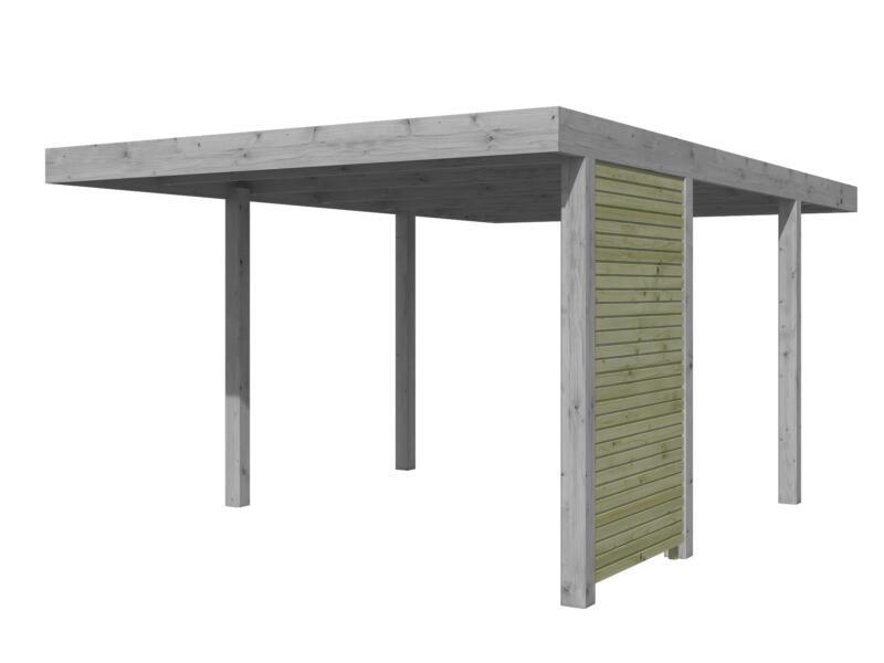 Gardenas Zijwand 109,4cm voor carport QB