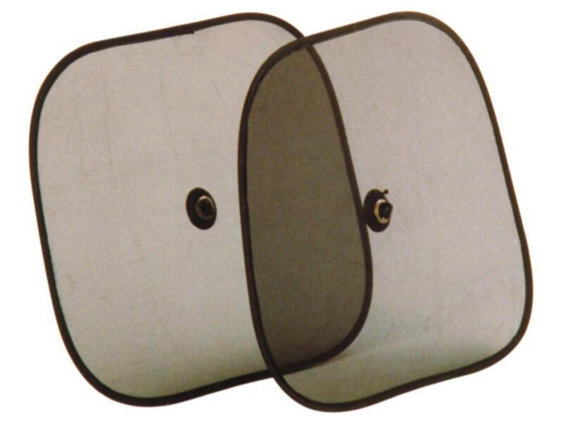 Carpoint Zonnescherm 45x38 cm 2 stuks
