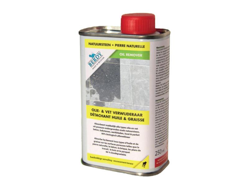 absorbeur de taches d'huile et de graisse pierre naturelle 200ml