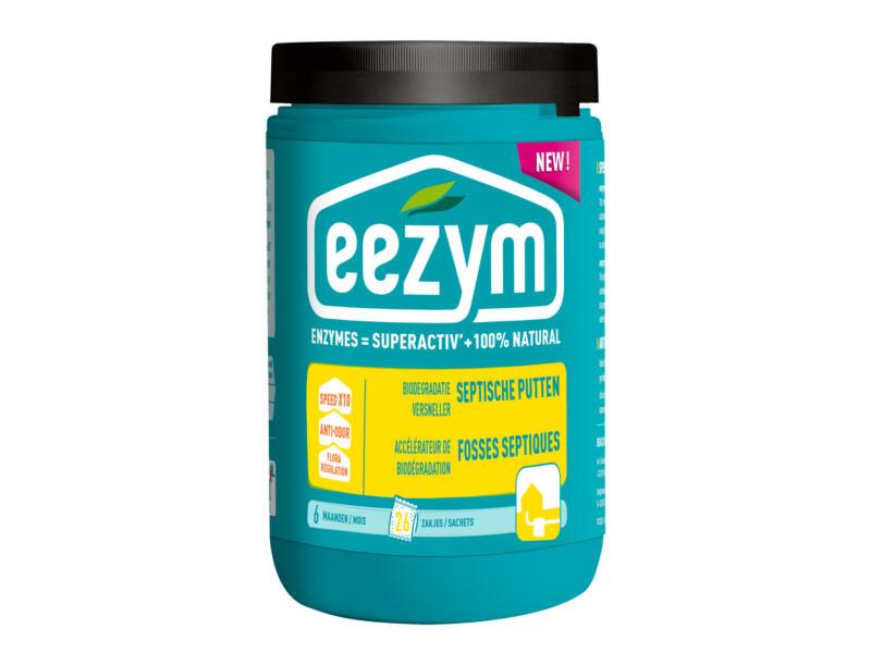 eezym accélérateur biodégradation fosses septiques 26 sachets solubles