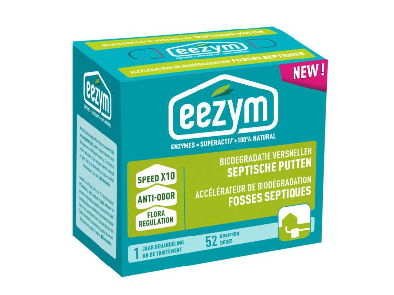eezym accélérateur de biodégradation fosses septiques 52 doses