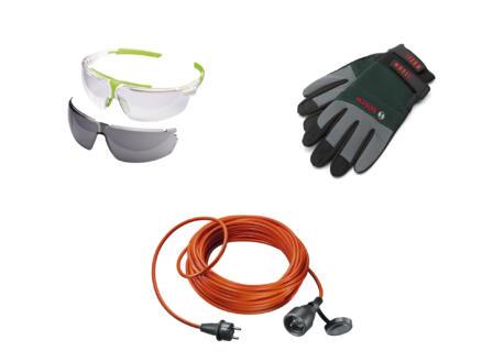 Bosch accessoires de jardinage 3 pièces