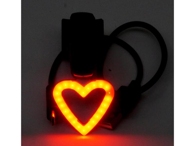 Maxxus achterlicht met USB love