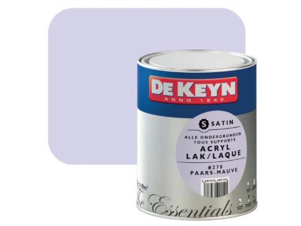 De Keyn acryl lak zijdeglans 0,75l paars #278