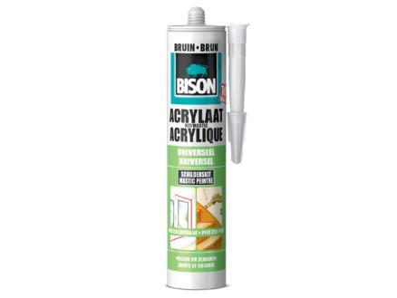 Bison acrylaatkit universeel 310ml bruin