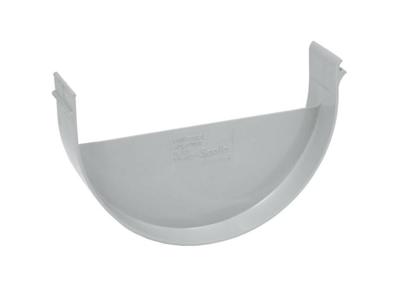 Scala adaptateur universel pour gouttière G125 gris clair