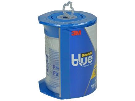 Scotch Blue afdekfolie 27,4m x 60cm transparant + dispenser