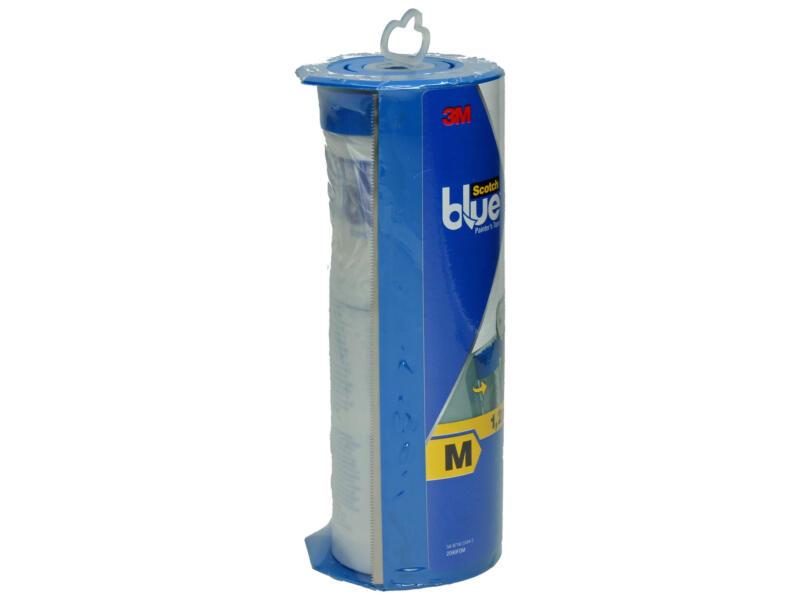 Scotch Blue afdekfolie 27,4x1,21 m transparant + dispenser