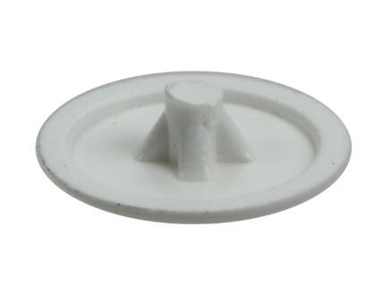 Rotadrill afdekkapje voor PZ2-schroeven wit 40 stuks