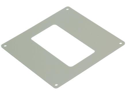 Renson afdekplaat 110x55 mm wit 2 stuks
