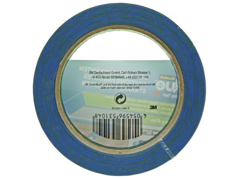 Scotch Blue afplaktape gladde ondergrond 41m x 36mm