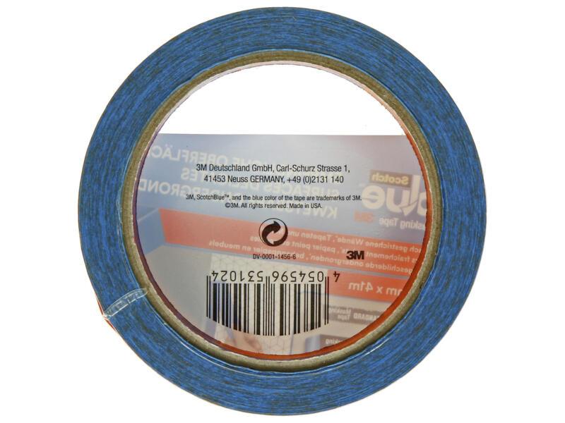 Scotch Blue afplaktape kwetsbare ondergrond 41m x 36mm blauw