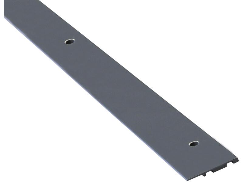 Grad By You afwerkingsplint 4x37x2010 mm aluminium antracietgrijs