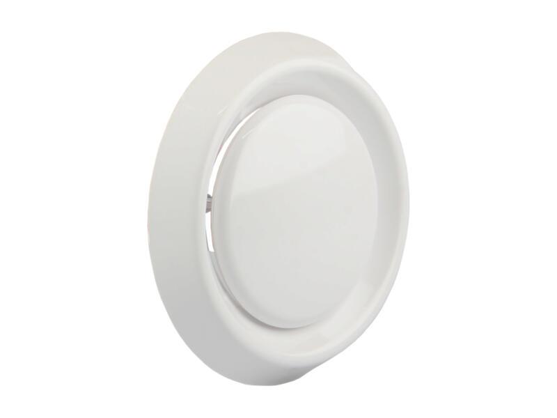 Renson afzuigventiel regelbaar 100mm PVC wit