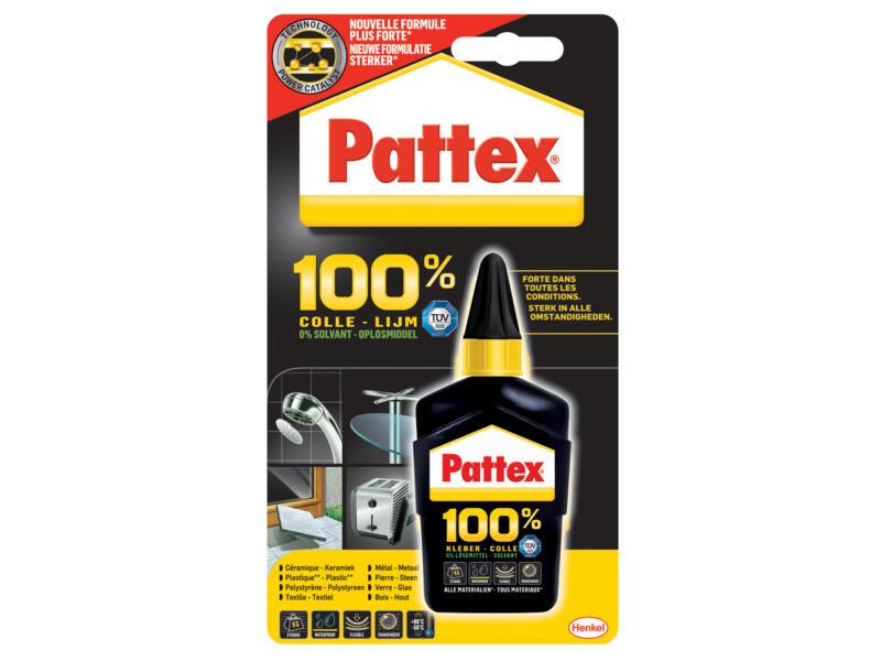 Pattex alleslijm 100% 50g transparant