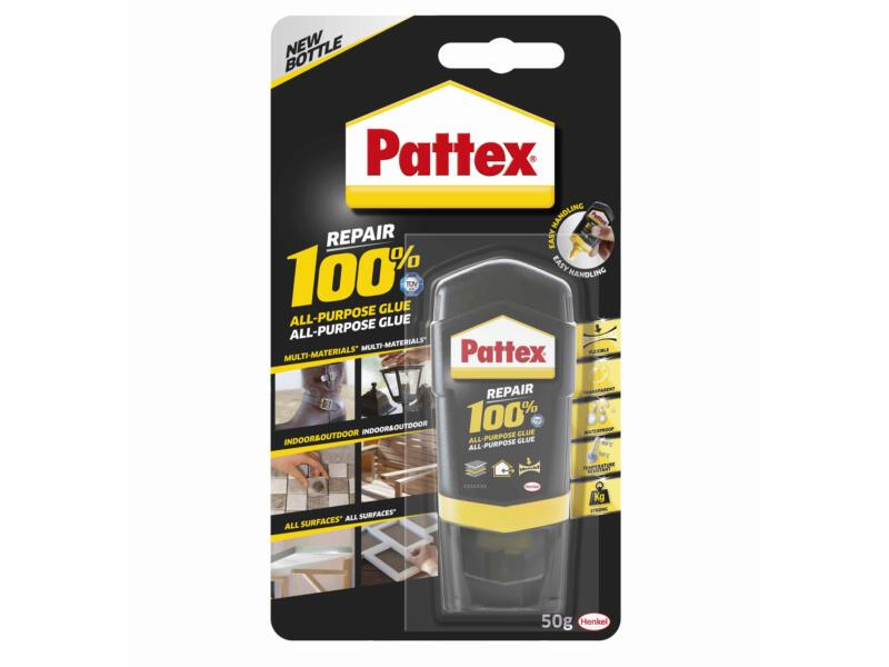 Pattex alleslijm 100% 50g