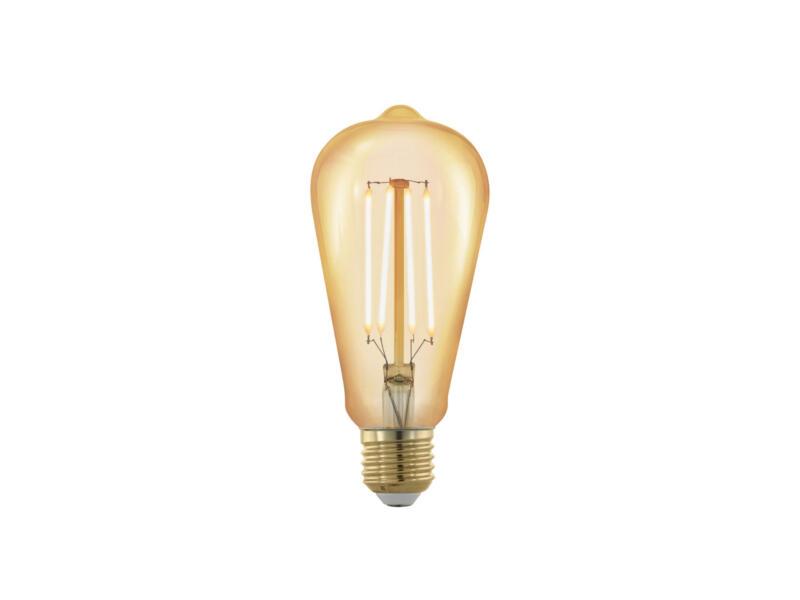 Eglo ampoule LED Edison filament E27 4W 6,4cm dimmable