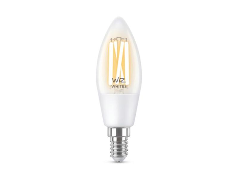 Wiz ampoule LED flamme filament E27 8W dimmable