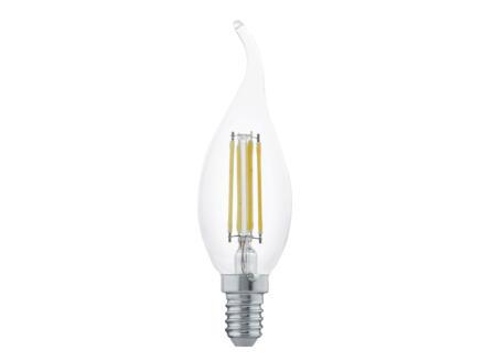 Eglo ampoule LED flamme filament mince E14 4W