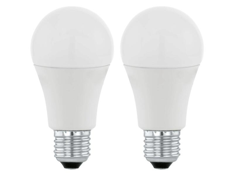 Eglo ampoule LED poire E27 10W 2 pièces