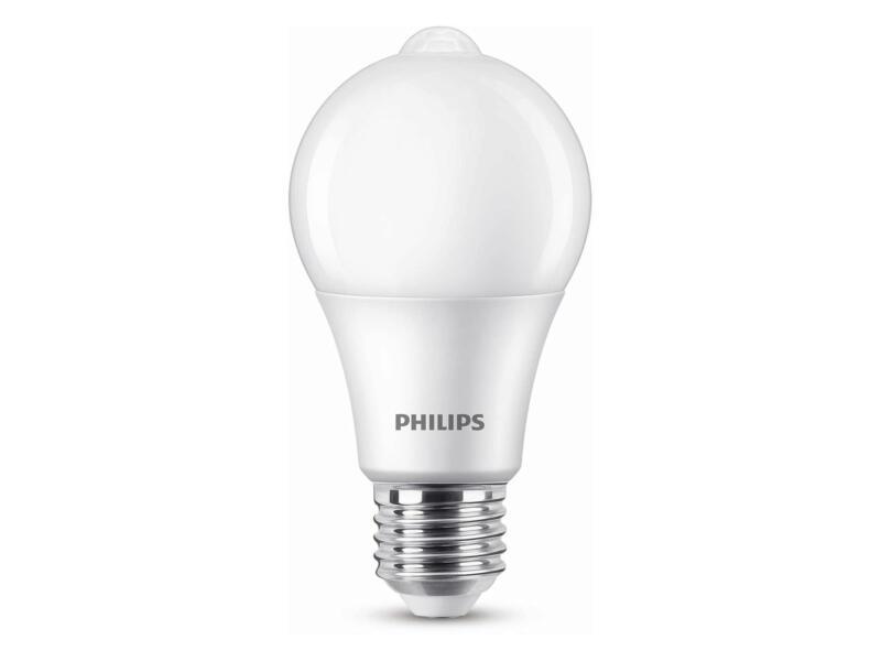 Philips ampoule LED poire E27 8W avec capteur de lumière