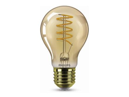 Philips ampoule LED poire filament verre ambré E27 5,5W dimmable