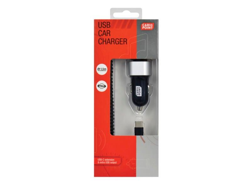 Carpoint autolader USB 12-24 V 3A
