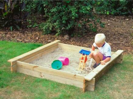 Gardenas bac à sable 120x120 cm