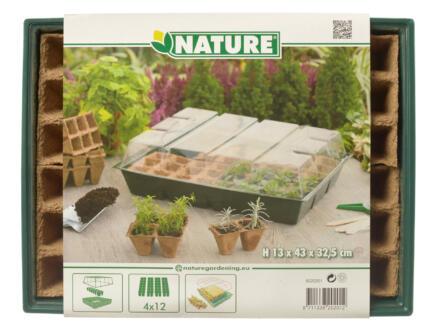 Nature bac de culture 42,5x32,5cm