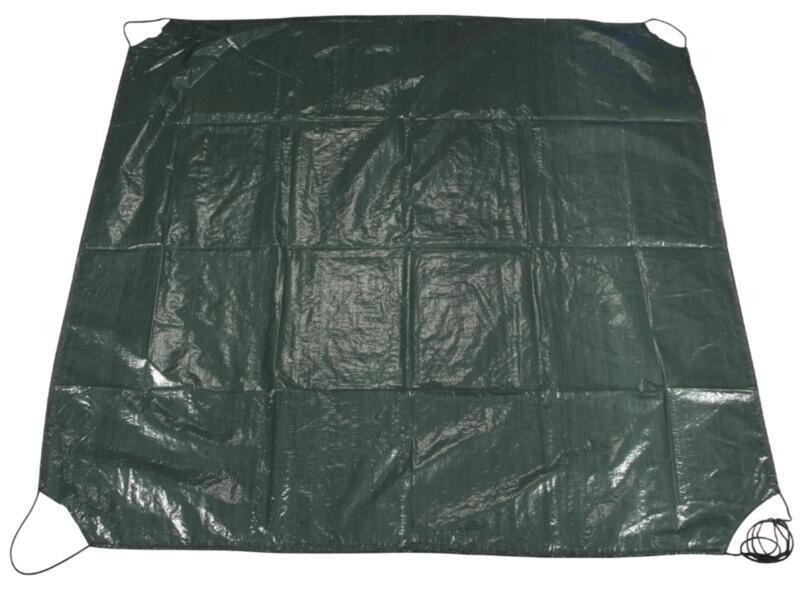 Toolland bâche à déchets de jardin 152x152 cm