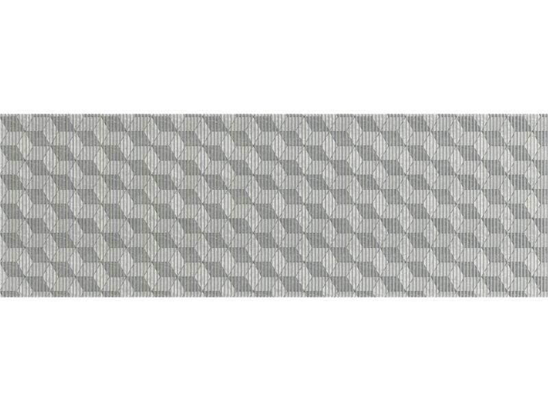 Finesse badmat 200x65 cm cube grey