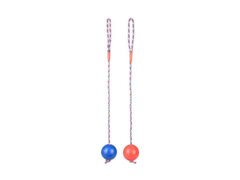 Flamingo bal met koord 60cm rubber beschikbaar in 2 kleuren
