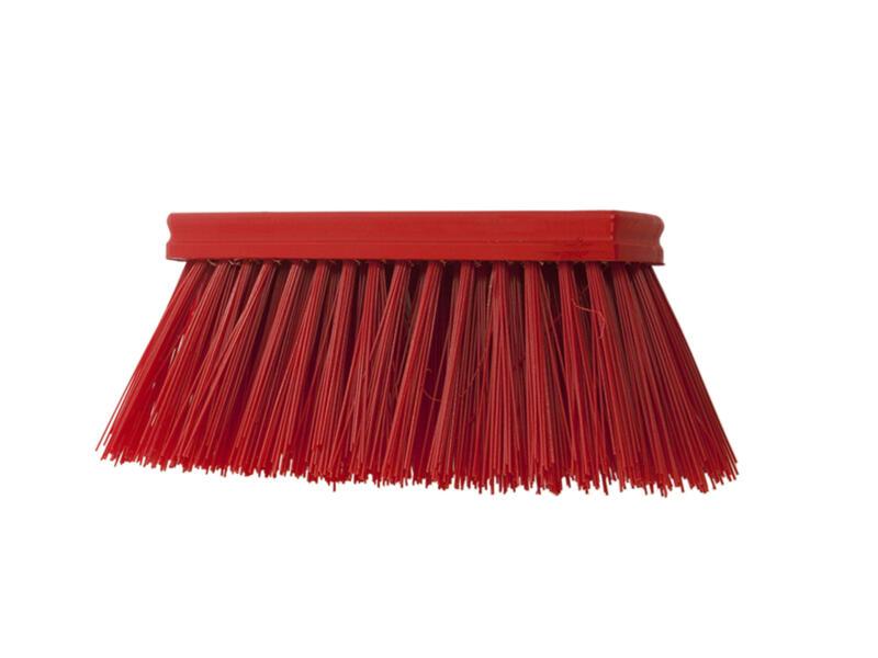 Polet balai cantonnier 30cm PVC poils longs