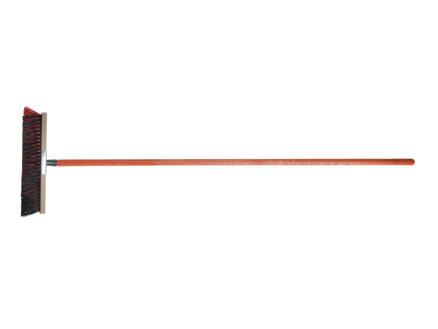 Polet balai d'extérieur à poils biseautés 40cm + manche 150cm