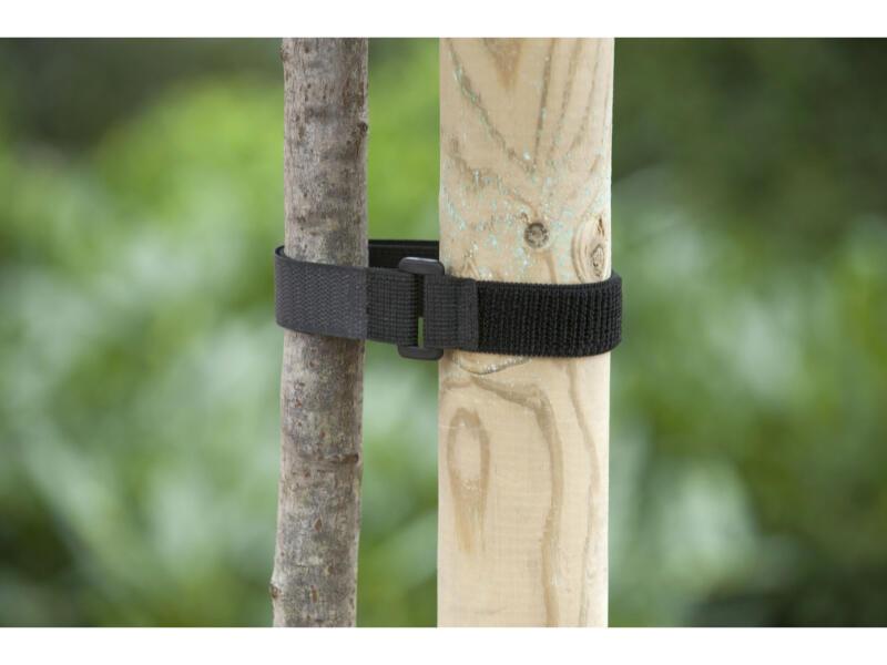 Nature bande de tuteurage arbre 40x2,5 cm boucle 2 pièces