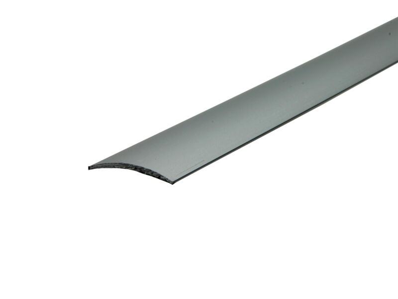 Arcansas barre de seuil autocollant 180cm 30mm aluminium mat anodisé
