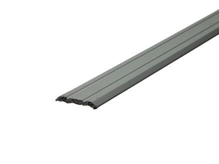 Arcansas barre de seuil autocollant 90cm 25mm aluminium mat anodisé