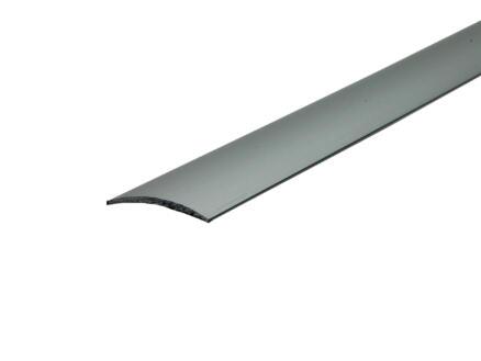 Arcansas barre de seuil autocollant 90cm 30mm aluminium mat anodisé
