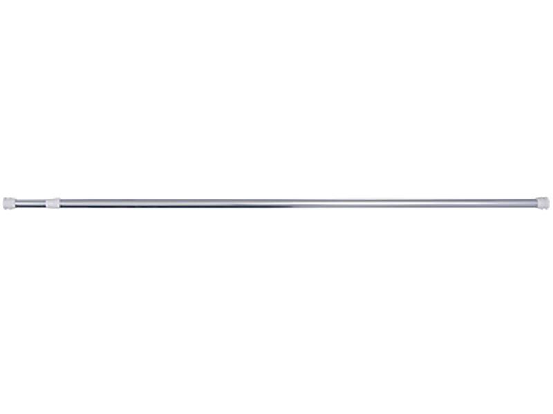 Differnz barre rideau de douche extensible 125-220 cm rond chrome