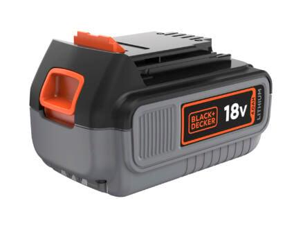 Black+Decker batterie 18V Li-Ion 4,0Ah