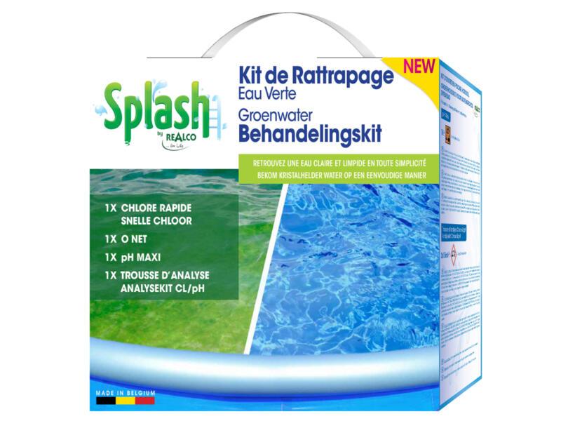 Splash behandelingskit voor groen water
