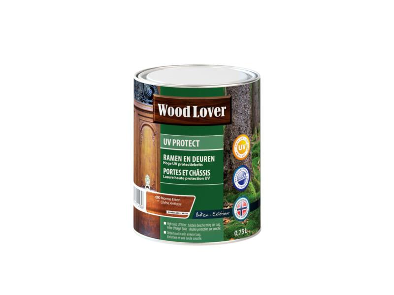 Wood Lover beits UV ramen & deuren 0,75l moeras eiken #690