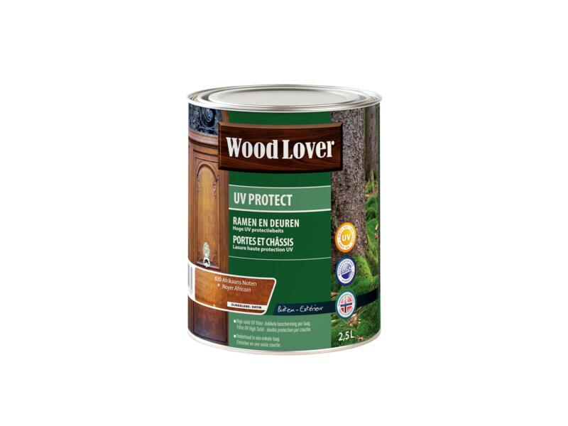 Wood Lover beits UV ramen & deuren 2,5l Afrikaans noten #630