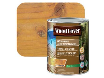 Wood Lover beits antislip 2,5l den #340