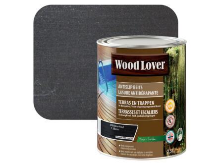 Wood Lover beits antislip 2,5l ebbenhout #370