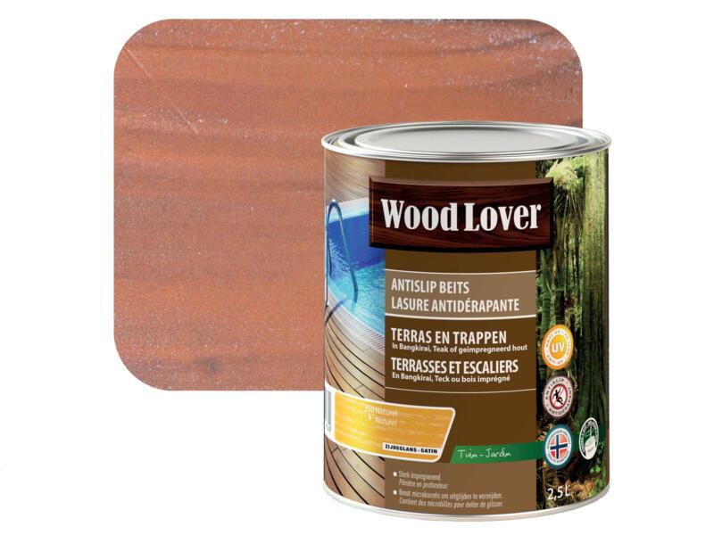 Wood Lover beits antislip 2,5l naturel #350