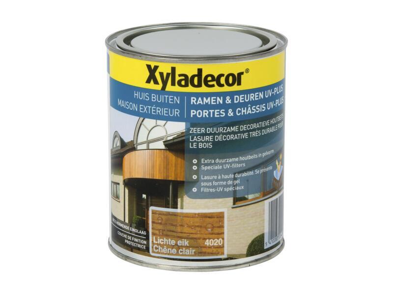 Xyladecor beits ramen & deuren UV-plus 0,75l lichte eik