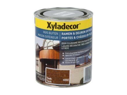 Xyladecor beits ramen & deuren UV-plus 0,75l teak